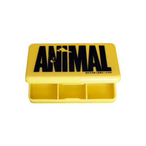 ANIMAL PILL BOX - YELLOW