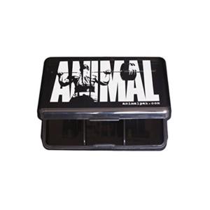 ANIMAL PILL BOX - SMOKY BLACK